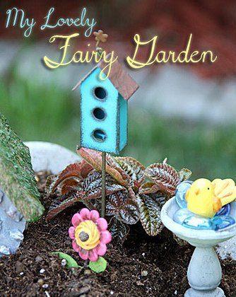 My Lovely Fairy Garden