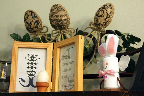 My Easter Decor & My Favorite Easter Pinterest Finds