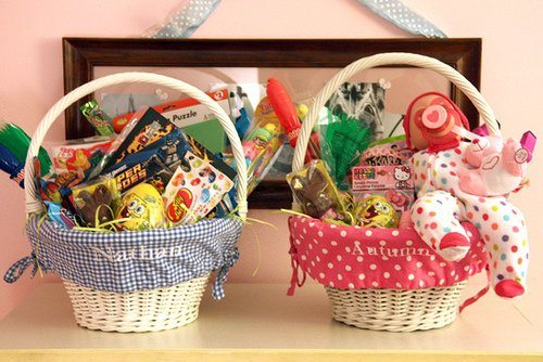 2013 Easter Baskets and a Flash Back!