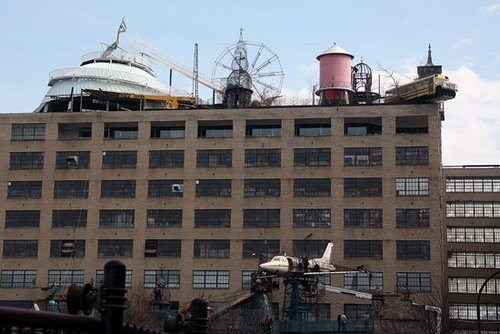 City Museum, quite an experience!