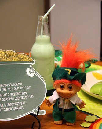 Breakfast with a Leprechaun