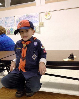 Wordless Wednesday – Pinewood Derby Edition