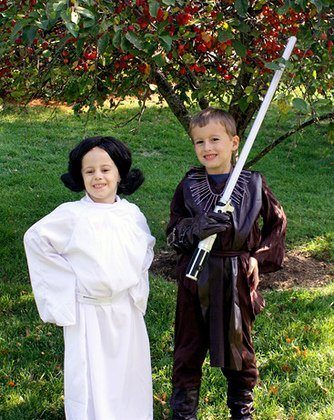 Anakin Nathan and Princess Leia Autumn