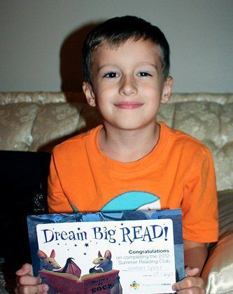 Nathan and Autumn Complete Library Reading Program