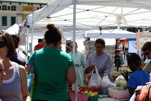 Tower Grove Park's Saturday Morning Farmers Market