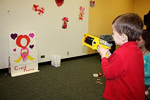 Valentine's Party at the Library