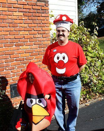 Uncle Jeff and Tracy's Veggie Tales Halloween Party