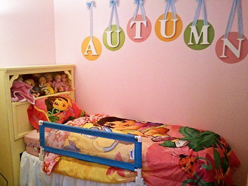 Autumn's BIG GIRL Bed!