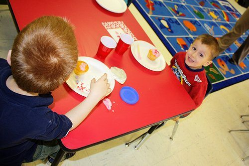 Nathan's Valentine's Party at School