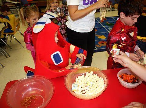 Nathan's Preschool 4 Halloween Party