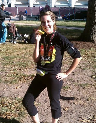 Go! St. Louis Halloween 10k run, I did it! Yeah!!