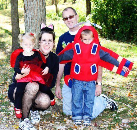 Halloween Costume Family Pics