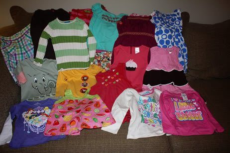 Clothes from Janna to Miss Auttie
