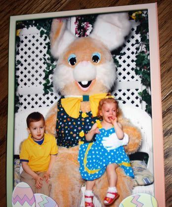 2010 Easter Bunny Picture (and, past pictures!)