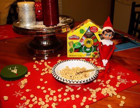Elfie's Last Visit on Christmas Eve