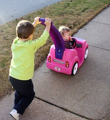 Autumn's new 'pink' ride