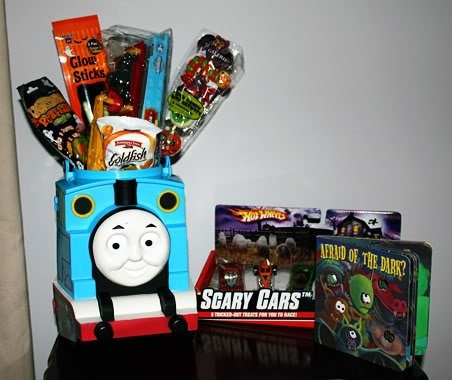 Halloween Baskets for the Kids