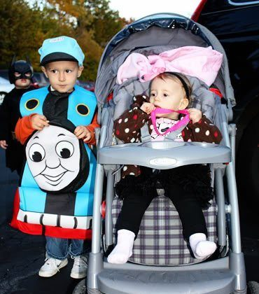 Nathan and Autumn's First Trunk or Treat