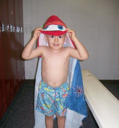 Nathan's 2nd Swim Class at the Y