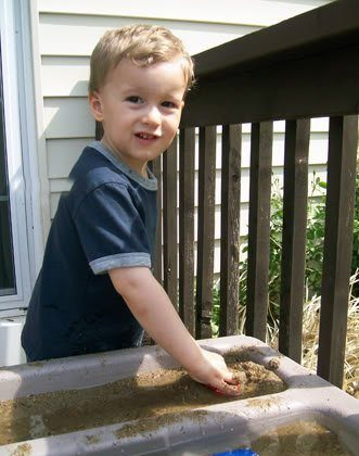Sand and Water Table Fun