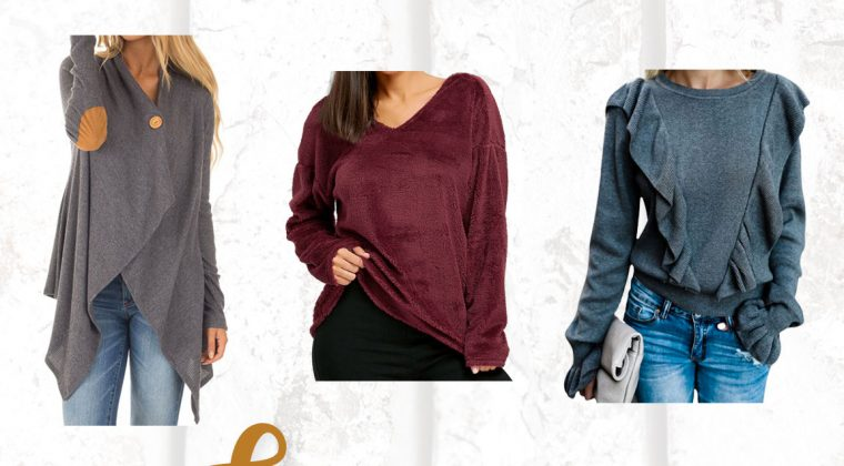 Thursday Fashion Files Link Up #136 – Cozy Sweater Wish List