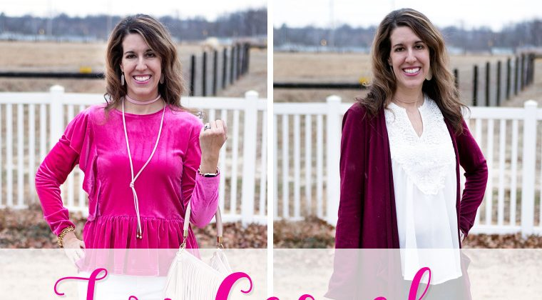 Thursday Fashion Files Link Up #145 – Two Casual V-Day Looks