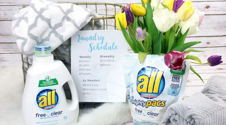 How to Create a Laundry Schedule that Works