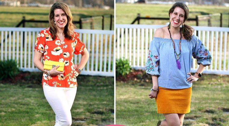 Thursday Fashion Files Link Up #156 – Spring Stitch Fix Try On Session