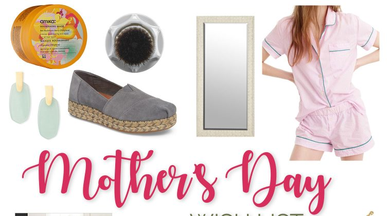 Thursday Fashion Files Link Up #160 – Mother's Day Wish List