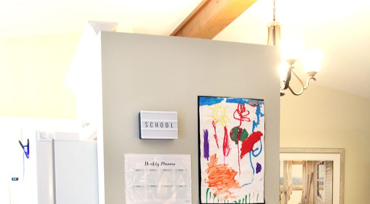 How to Create a Colorful School Themed Mini Gallery Wall