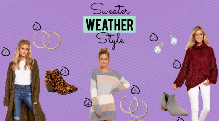 Put the 'Sweater' in 'Sweater Weather' with These Knitwear Pieces