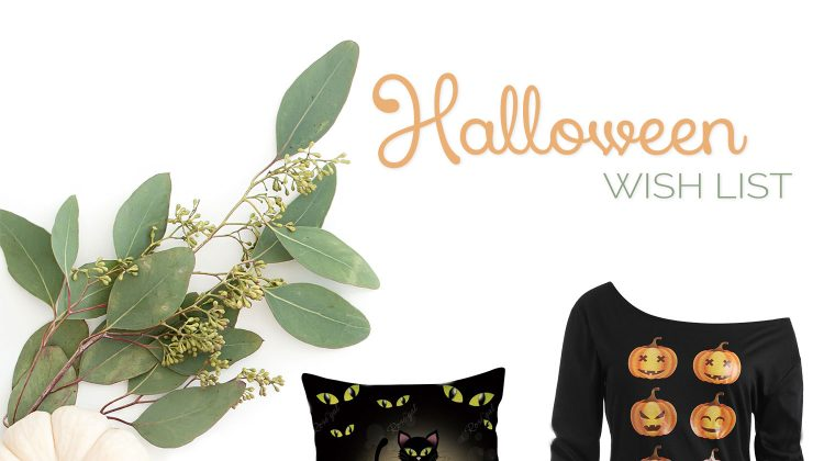 Thursday Fashion Files Link Up #184 – Halloween Sale & Wish List